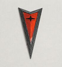 2004-2005-2006 Pontiac GTO Front Bumper Arrowhead Arrow Emblem Carbon Fiber