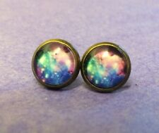 Retro Cosmic planet galaxy Chic quirky kitsch FunkyJewellery Costume earrings