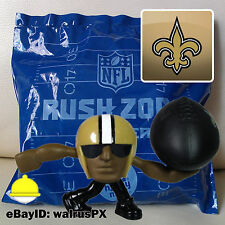 #27 NEW ORLEANS SAINTS - NFL Rush Zone Rusher Nicktoons McDonalds Happy Meal Toy