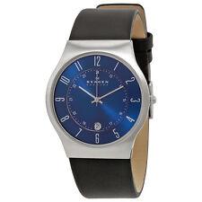 Skagen Denmark Steel Perfect Blue Dial Mens Watch 233XXLSLN