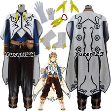 Tales of Zestiria the X Sorey Cosplay Costume Bracelet Earrings Bag Custom Made