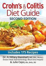 Crohn's and Colitis Diet Guide: Includes 175 Recipes-ExLibrary