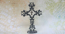 'Bless My Goddaughter' Pewter Communion Cross - First Holy Communion GIft