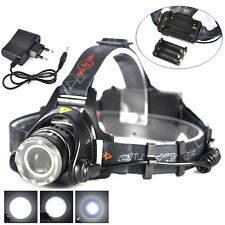 Zoomable 5000LM XM-L T6 LED Rechargeable Headlight 18650/AA Headlamp Head Torch