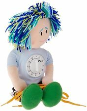 NEW Daddy Doll LEARN TO DRESS Button/Zip/Lace/Snap & TEACHES TIME concept