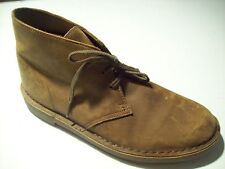 Clarks Bushacre Chukka Brown Leather Oxford Ankle Boots Size 8 @ cLOSeT 260