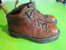 Dr. Martens Hiking Boots Air Wair 8287 Brown Leather Made in England Size 8