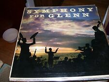 SYMPHONY FOR GLENN MILLER-HAMBURG PHILHARMONIA ORCHESTRA-LP-VG+-IN GERMANY-QUALI
