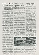 1945 Aviation Article Ercoupe Sales Plans of Parks Aircraft Service Illinois
