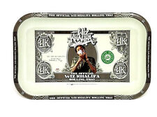 Wiz Khalifa Large Metal Rolling Tray - RYO - Tobacco Accessory- Collectible 34cm