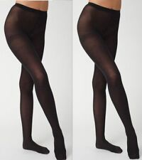 pack of 2 Black stockings/waist high/soft stretch/pantyhose/free size fits-24-34