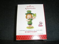 Hallmark 2013 - Happiness is Peanuts All Year Long - St. Patty's Day