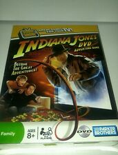 Indiana Jones DVD Adventure Game MIB 2008  NEW in PKG Parker Bothers movie toy