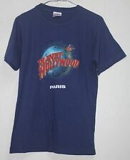 Planet Hollywood Paris Blue Cotton Special for Kid,Lady Souvenir T-Shirt sz XL