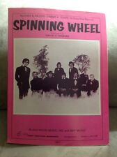 """BLOOD SWEAT AND TEARS """"Spinning Wheel,"""" 1968,  Vintage"""