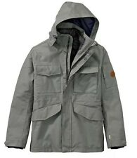 $298 NWT TIMBERLAND MEN'S 3-IN-1 WATERPROOF FIELD JACKET Hooded A1AIF433. SZ:2XL