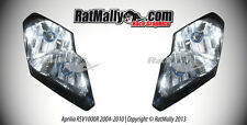 WORLD SUPERBIKE HEADLIGHT STICKERS - APRILIA RSV1000R 2004-10 - RACE GRAPHICS