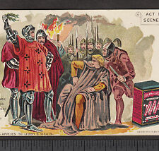 Shakespeare Henry VI War and Peace Libby Canned Meat Ox Tongue Can Beef Ad Card