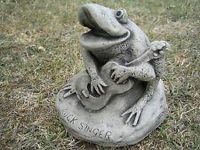Rock cantante FROG pietra ornamentale da giardino & LT & ltvisit il mio negozio & GT e GT