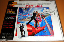 007 JAMES BOND cd A VIEW TO A KILL Japan SOUNDTRACK duran JOHN BARRY roger moore