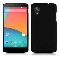 Hard PC Plastic Back Case Cover Shell for LG Google Nexus 5 Black NEW