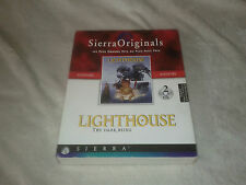 Lighthouse the dark being SIERRA Point & Click Light House  -- PC -- Big Box FR