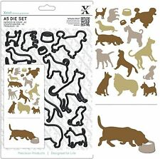 DOCRAFTS XCUT A5 CUTTING DIE SET DOGS 13 BREEDS 15 DIES - NEW UNIVERSAL FIT