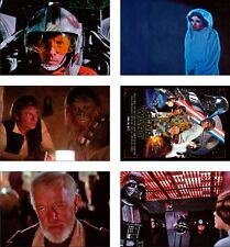 Star Wars 1977 Film Great Nuovo CARTOLINA Set