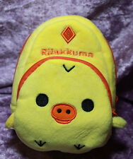 "1/3 18"" American Girl Plush School Backpack Bag Doll Rilakkuma yellow duck purse"