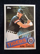Kirk Gibson 1985 Topps Tiffany Card