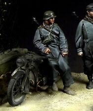 THE BODI WWII GERMAN MOTORCYCLIST #2 Scala 1:35 Cod.TB35055
