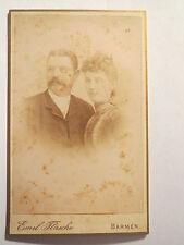 Barmen - Paar - Mann und Frau - Portrait / CDV