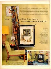 1953 Stromberg-Carlson Television Oriental Cabinet beautiful ART PRINT AD