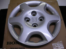 """96-00 New Genuine Honda Civic Hubcap 14"""" wheel  6 Spoke hub cap Hubcap cover"""