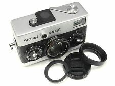 New Lens UV + Cap + Hood for Rollei  35S 35SE BLACK