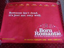 BORN ROMANTIC starring CRAIG FERGUSON, JANE HORROCKS   FILM POSTER 102  x 77 cms