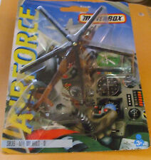 1993 Matchbox Airforce Skybusters Sb-35  Russian MIL MI-24 Hind D Attack Helico