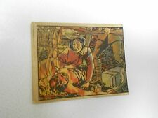 1938 Horrors of War WW2 Card #121 Japanese Apply Torch To Dead Farmer VG+ GUM