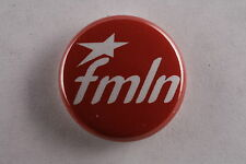 "El Salvador FMLN Communist Socialist Liberation Civil War 1"" Button Badge Pin"