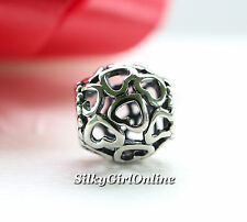 NEW! AUTHENTIC PANDORA CHARM OPEN YOUR HEART #790964