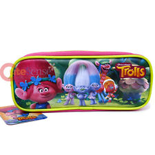 Dreamworks Trolls Poppy Pencil Case Zippered Pouch Bag with Family