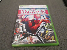 Marvel: Ultimate Alliance 2  (Microsoft Xbox 360) Complete game VG Tested