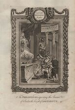 1790 Ca-ANTIQUE PRINT-MAYNARD'S JOSEPHUS-THE PHILISTINES/TEMPLE OF ASHTAROTH