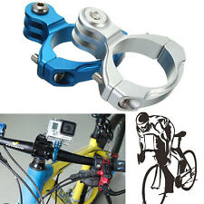 Aluminum Bike Handlebar Bar 31.8mm Mount Clamp For SJCAM SJ4000 SJ6000 Xiaomi yi