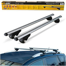 M-Way 90kg Anti Theft Lockable Aluminium Car Roof Rack Rail Bars for Mazda Demio