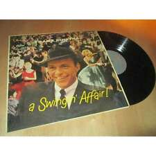 FRANK SINATRA - a swingin' affair ! - CROONER US - CAPITOL LCT 6135 UK Lp