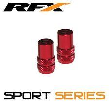 RFX Sport Series Valve Caps & Valve Key 2pcs RED KAWASAKI KX65 KX85 KX125 KX250