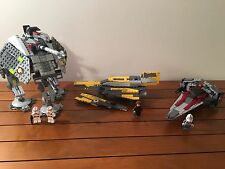 LEGO Star Wars V-Wing Fighter, AT-AP Walker, Anakin's Fighter - 6206 7671 7669