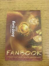 2004 Euro 2004: In Portugal, Official Fanbook Guide, Small Pocket Edition, 50 Pa