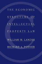 The Economic Structure of Intellectual Property Law by Landes, William M., Posn
